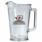 Alabama 2017 National Champions Glass Pitcher with Red Pewter Accent