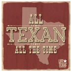 All Texan Absorbent Beverage Coasters by Life Is Country, Set of 12