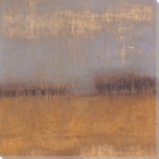 Amber Fields I Wrapped Canvas Giclee Print Wall Art