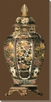 Amber Porcelain Vase II Wrapped Canvas Giclee Print Wall Art