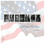 America Absorbent Beverage Coasters by Jan Shade Beach, Set of 12