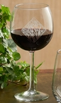 Among Trees Red Wine Glasses, Set of 8