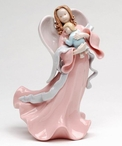 Angel of Life Porcelain Figurine Sculpture