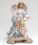 Angel of Security Porcelain Figurine Sculpture