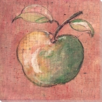 Apple with a Long Stem Wrapped Canvas Giclee Print Wall Art