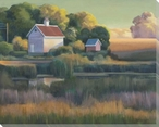 Approaching Dusk Wrapped Canvas Giclee Print Wall Art