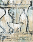 Archival Pottery 4 Wrapped Canvas Giclee Print Wall Art