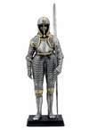 Armor with Langdebeve Medieval Sculpture