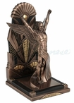 Art Deco Style Male Figure Single Bookend