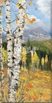 Aspen Gold Trees Wrapped Canvas Giclee Art Print Wall Art