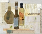 Assorted Olive Oils Wrapped Canvas Giclee Print Wall Art