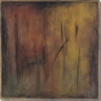 Autumn Forest Wrapped Canvas Giclee Print Wall Art