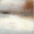 Autumn River Mist Wrapped Canvas Giclee Print Wall Art