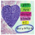 Awesome Absorbent Beverage Coasters by Tamara Holland, Set of 12