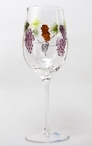 Bacchus Romanian Crystal Red Wine Glasses, Set of 4