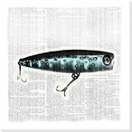 Bait and Switch 3 Wrapped Canvas Giclee Print Wall Art