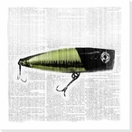 Bait and Switch 4 Wrapped Canvas Giclee Print Wall Art