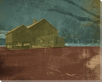 Barns and Fences 1 Wrapped Canvas Giclee Print Wall Art