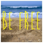 Be Free Absorbent Beverage Coasters, Set of 12