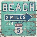 Beach Wood Signs