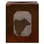 Bear Metal Boutique Tissue Box Cover