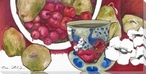 Begin the Feast Assorted Fruits Wrapped Canvas Giclee Print