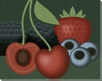 Berries Still Life Wrapped Canvas Giclee Print Wall Art