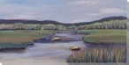 Betsie River Lookout Wrapped Canvas Giclee Print Wall Art