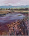 Betsie River Wrapped Canvas Giclee Print Wall Art