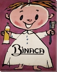 Binaca Child with Toothpaste & Tooth Brush Wrapped Canvas Giclee Print