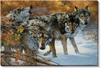 Body Language Timberwolves Wrapped Canvas Giclee Print Wall Art