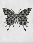 Bold Butterfly 1 Wrapped Canvas Giclee Print Wall Art