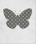 Bold Butterfly 4 Wrapped Canvas Giclee Print Wall Art