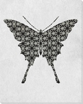 Bold Butterfly 5 Wrapped Canvas Giclee Print Wall Art