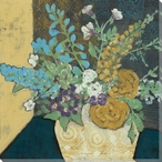 Bountiful Spring Bouquet II Wrapped Canvas Giclee Print Wall Art
