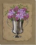 Bouquet Flowers III Wrapped Canvas Giclee Print Wall Art
