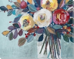 Bouquet For Camille Wrapped Canvas Giclee Print Wall Art