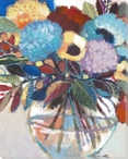 Bouquet For Moira Wrapped Canvas Giclee Print Wall Art