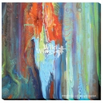 Bourkes Luck Abstract Wrapped Canvas Giclee Print Wall Art