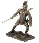 Bronze Achilleus Greek Hero in the Trojan War Sculpture