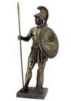 Bronze Ajax Mythological Greek Hero Sculpture