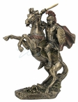 Bronze Alexander the Great on Horseback Sculpture