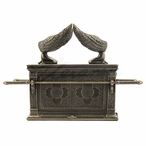 Bronze Ark of the Covenant Trinket Box