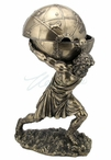 Bronze Atlas Carrying the World Trinket Box
