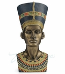 Bronze Bust of Queen Nefertiti Sculpture