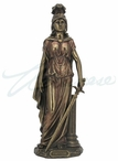 Bronze Cardinal Virtues Fortitude Sculpture