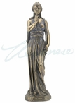 Bronze Cardinal Virtues Silence Sculpture