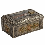 Bronze Cyrus the Great of Persia Trinket Box