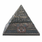 Bronze Egyptian Pyramid Double Tier Trinket Box
