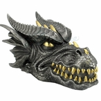 Bronze Fierce Dragon Head Trinket Box